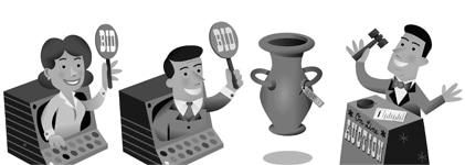 The Art Market, Internacionalización de ofertas de subastas online