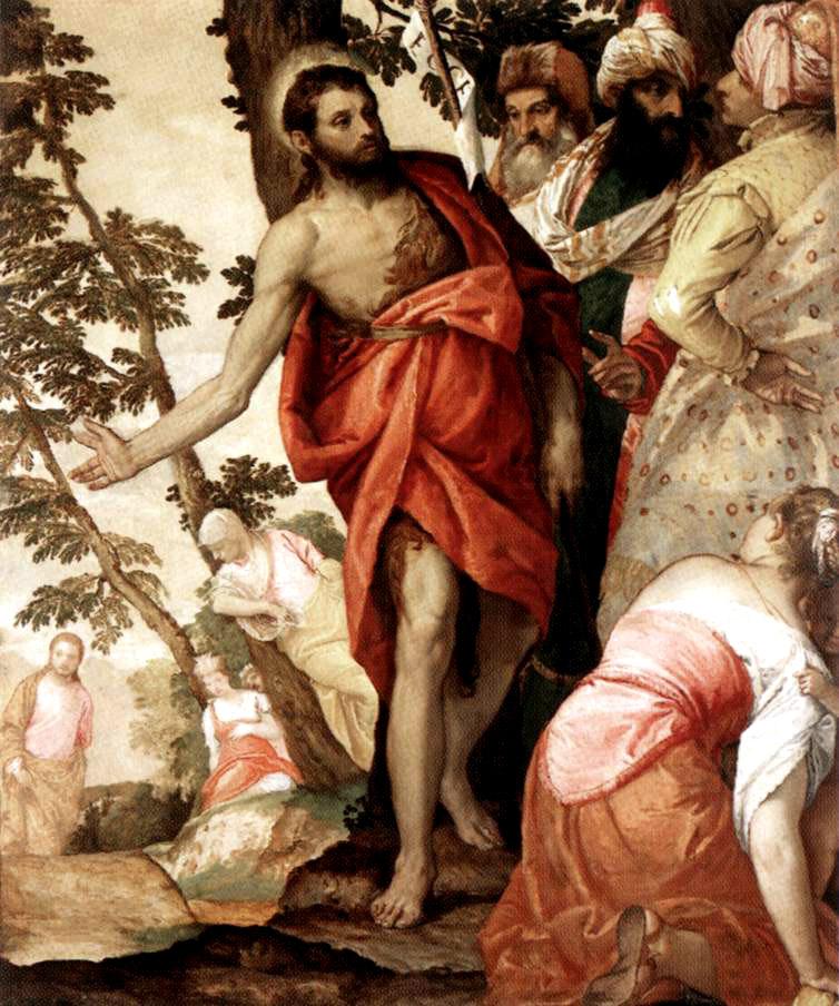 Resultado de imagen de san juan bautista en el arte