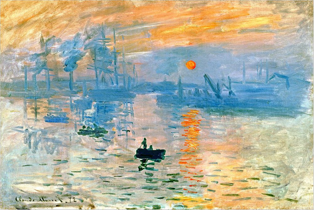 Analysis of Claude Monet's Impression, Sunrise