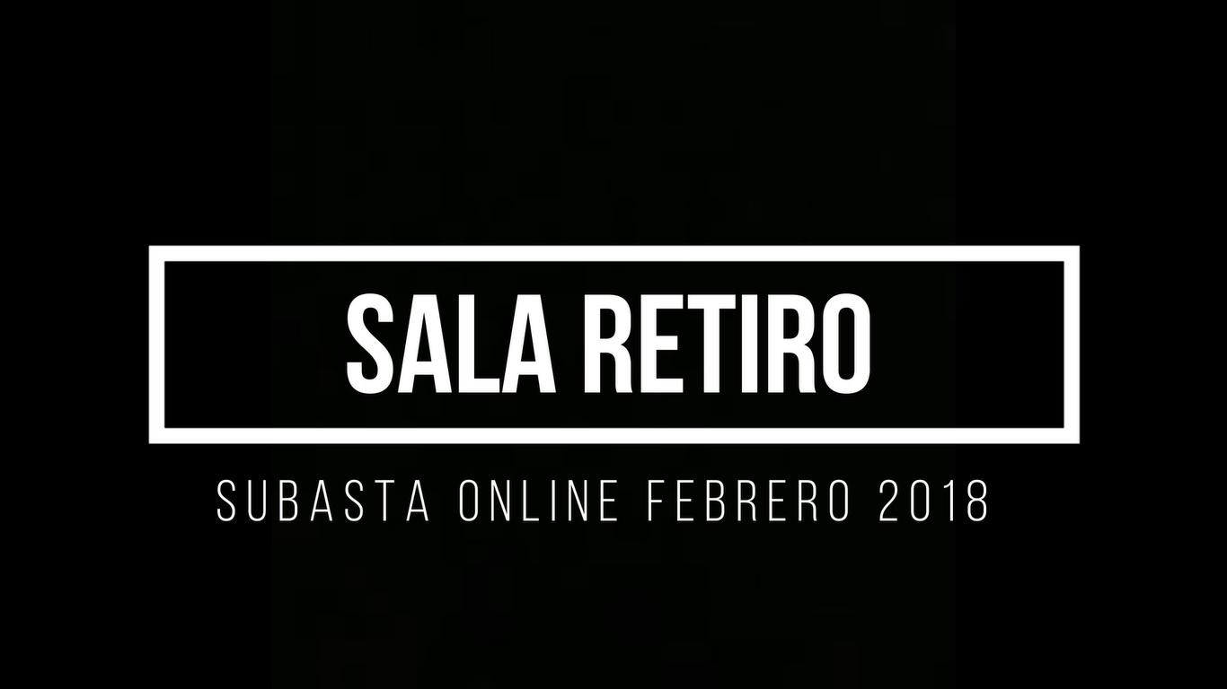 sala retiro presenta sus destacados de su subasta online the art market arte online ventas globales - Salaretiro