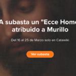 Ecce Homo atribuido a Murillo sale a la venta «solo online», en Catawiki