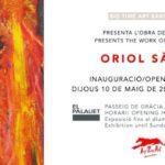 Oriol Sàbat presenta su obra «en llamas» este mayo en Barcelona