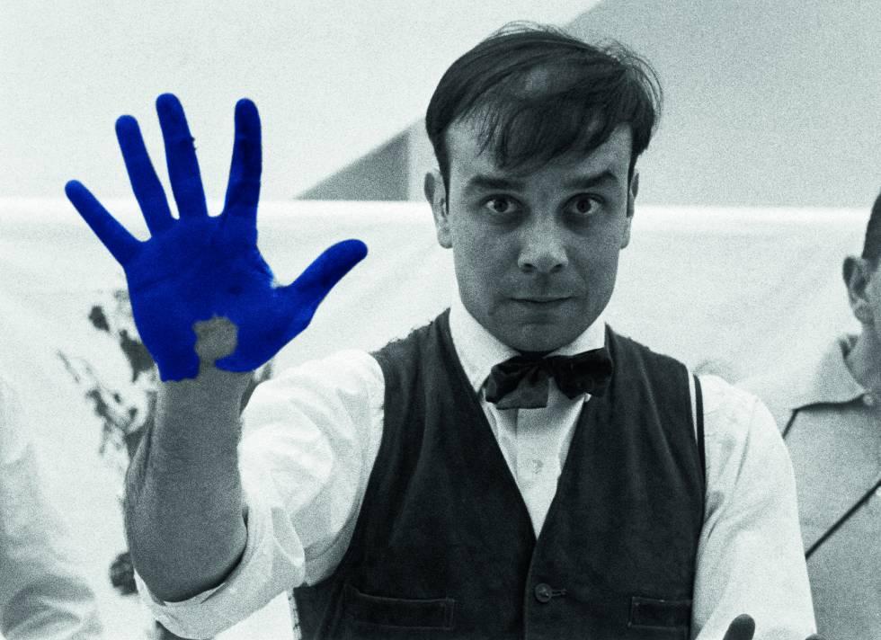 Ives Klein: azul