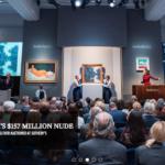 Nu Couche de Modigliani rematado en 157 millones de dólares