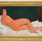 Desnudo acostado (en el lado izquierdo) de Modigliani marca récords, pero no es la obra más cara de la Historia