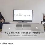#1 Vídeo News de Arte:  Noticias de arte y anuncio de curso de comercialización