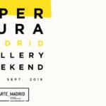 Apertura Madrid Gallery Weekend: lo último en galerías