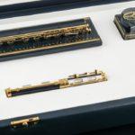 Una interesante colección de plumas estilográficas sobresale en Sala Retiro
