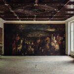 Descubierta una pintura de la Escuela de Le Brun tras una pared