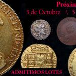 Monedas «monarquía» de Felipe IV y Carlos III lo más destacado de Silicua Subastas