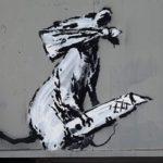 Roban una obra de Banksy en el Centro Pompidou