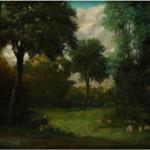Grandes nombres en la última subasta del año de Ansorena: Goya, Sorolla, Plensa, Zóbel y Gustave Courbert