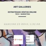 Webinar: Estrategias venta online para Galerías de Arte