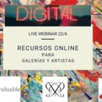 [Live Webinar] Digital: Recursos Online para Galerías y Artistas