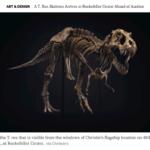 Avances Arte & Mercado: Un dinosaurio en el mercado del arte